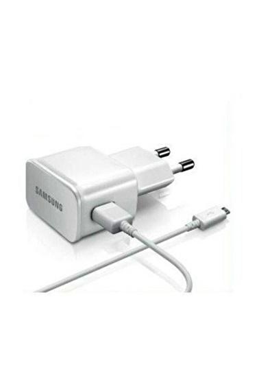Samsung Micro USB Şarj Cihazı Beyaz - EP-TA12EWEUGWW Renkli